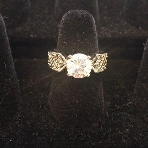 Jewelry - 2CT Simulated Diamond Engagement Ring .925 Silver